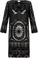 Lisa Maree 'The Uplift' Black Crochet Dress
