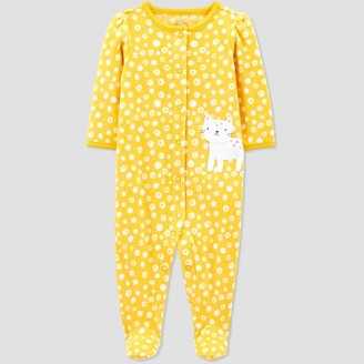 Just One You Made By Carter's Baby Girls' Cat Fleece One Piece Pajama - Just One You® made by carter's
