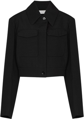 Lemaire Military-Style Cropped Jacket