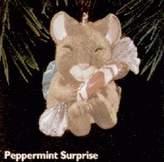 Hallmark QX6234 Peppermint Surprise Mouse 1996 Keepsake Ornament