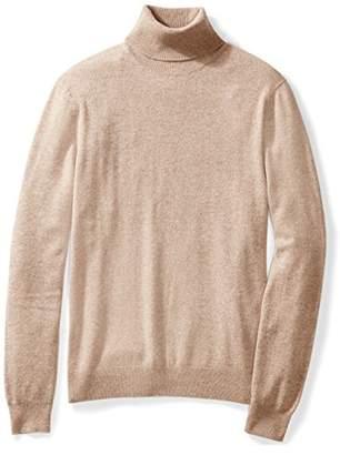 Buttoned Down Men's Cashmere Turtleneck Sweater