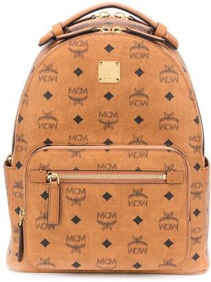 MCM Stark Visetos-print backpack