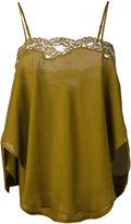 Mes Demoiselles pleated blouse - women - Silk - 36