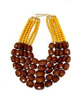 DaVinci Bead Statement Necklace