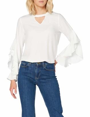 Mavi Jeans Women's Frill Sleeve Blouse