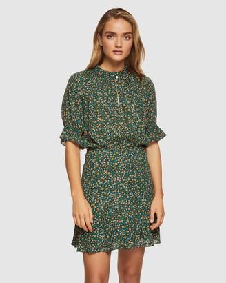 Oxford Sabrina Ditsy Floral Mini Skirt