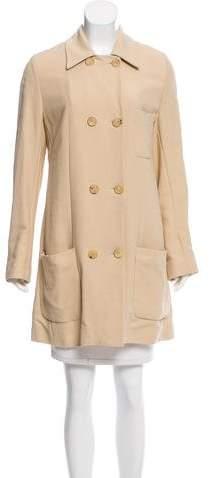 Ann Demeulemeester Double-Breasted Knee-Length Coat