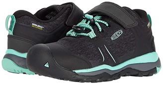 KEEN Kids Terradora II Low WP (Toddler/Little Kid) (Black/Beveled Glass) Girl's Shoes