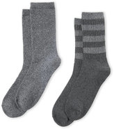 Cuddl Duds 2-Pack Super Soft Crew Socks