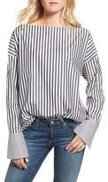 AG Jeans Famke Stripe Blouse
