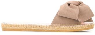Manebi Knot Slip-On Sandals