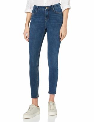 Dorothy Perkins Women's Indigo Regular Length 4 Way Stretch Jeans 22
