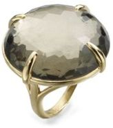 Ippolita 18K Yellow Gold Pyrite Doublet Cocktail Ring