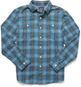 Grayers Nevill Heritage Flannel Button Down Shirt Blue Multi M