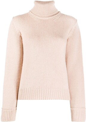 P.A.R.O.S.H. Roll Neck Long-Sleeved Jumper