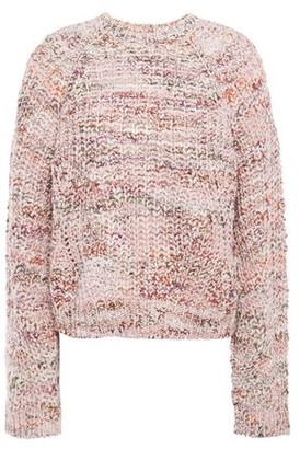 Joie Melange Boucle-knit Sweater