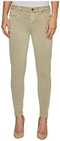Liverpool Devon Relaxed Ankle Skinny in Stretch Peached Twill in Pure Cashmere Women's Jeans