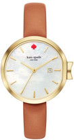 Kate Spade Park Row Brown Watch