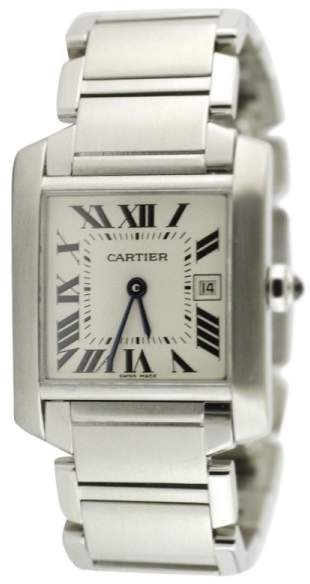 Cartier Tank Francaise 476526CE Steel Quartz Unisex Watch