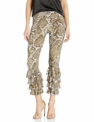 Norma Kamali Women's Ruffle Legging