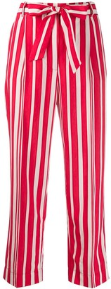 Chinti and Parker Striped Cropped Trousers