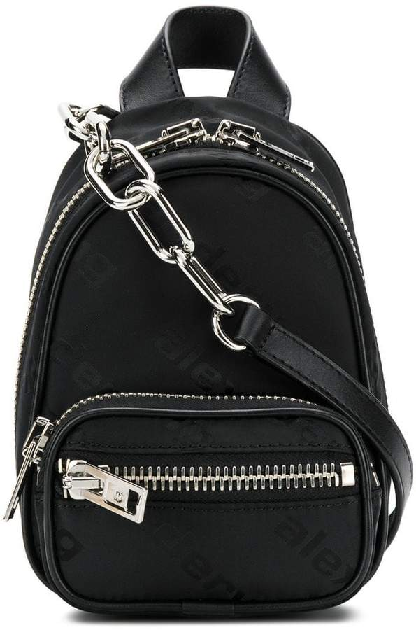 Alexander Wang mini zipped backpack