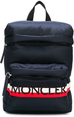 Moncler Enfant Padded Logo Backpack