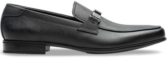 Prada Saffiano leather loafers