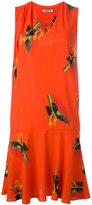 Cacharel flower print shift dress - women - Silk - 36
