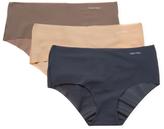 Calvin Klein Underwear Invisible Hipster 3-Pack