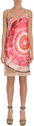 Givenchy Satin And Mesh Dress