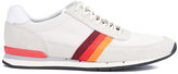Ps By Paul Smith Swanson Running Trainers Off White Mesh/ecru Silky Suede