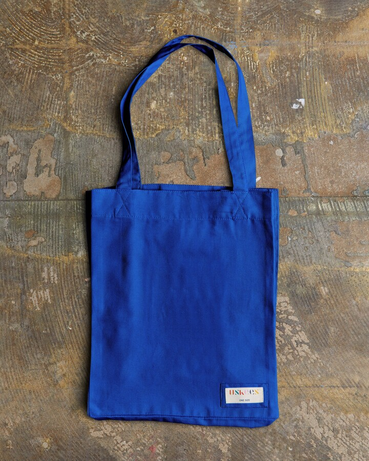 Thumbnail for your product : Uskees - The 4002 Small Organic Tote Bag - Ultra Blue