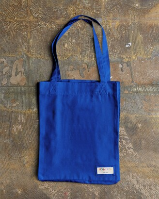 Uskees - The 4002 Small Organic Tote Bag - Ultra Blue