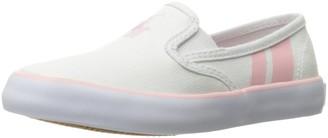 Polo Ralph Lauren Kids Unisex-Child Piper WHT CVS W PP-LT PK Loafer