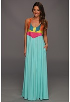 Mara Hoffman Corded Tank Maxi Dress (MNT) - Apparel