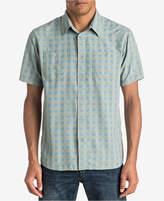 Quiksilver Waterman Men's Wake Yarn-Dyed Plaid Shirt