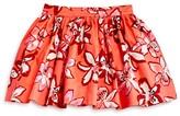 Kate Spade Girls' Tiger Lily Print Skirt - Sizes 2-6