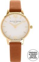 Olivia Burton White Midi Dial Watch