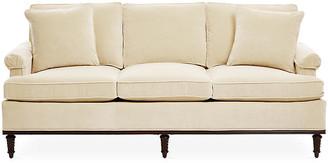 Michael Thomas Collection Garbo Sofa - Cream Velvet
