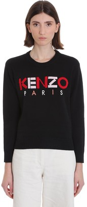 Kenzo Knitwear In Black Cotton