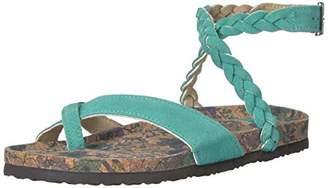 Muk Luks Women's Estelle Terra Turf- Sandal 7 M US