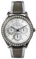 BCBGirls Women's GL2068 Crystal Accented The Smoking Gun Collection Watch
