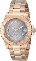 Invicta Women's 14368 Angel Analog Display Swiss Quartz Rose Gold Watch