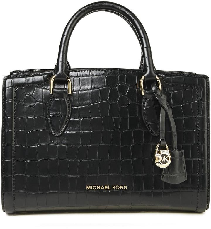 MICHAEL Michael Kors Croc-effect Leather Tote