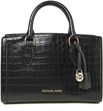 MICHAEL Michael Kors Croc-effect Leather Tote