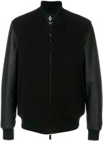 Marcelo Burlon County of Milan contrast sleeve varsity jacket