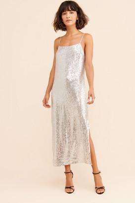 Endless Rose Full Moon Sequin Slip Dress