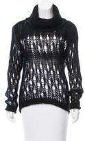 Isabel Benenato Distressed Knit Sweater