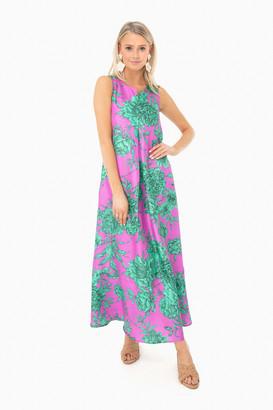 Le Sarte Pettegole Silk Penelope Dress